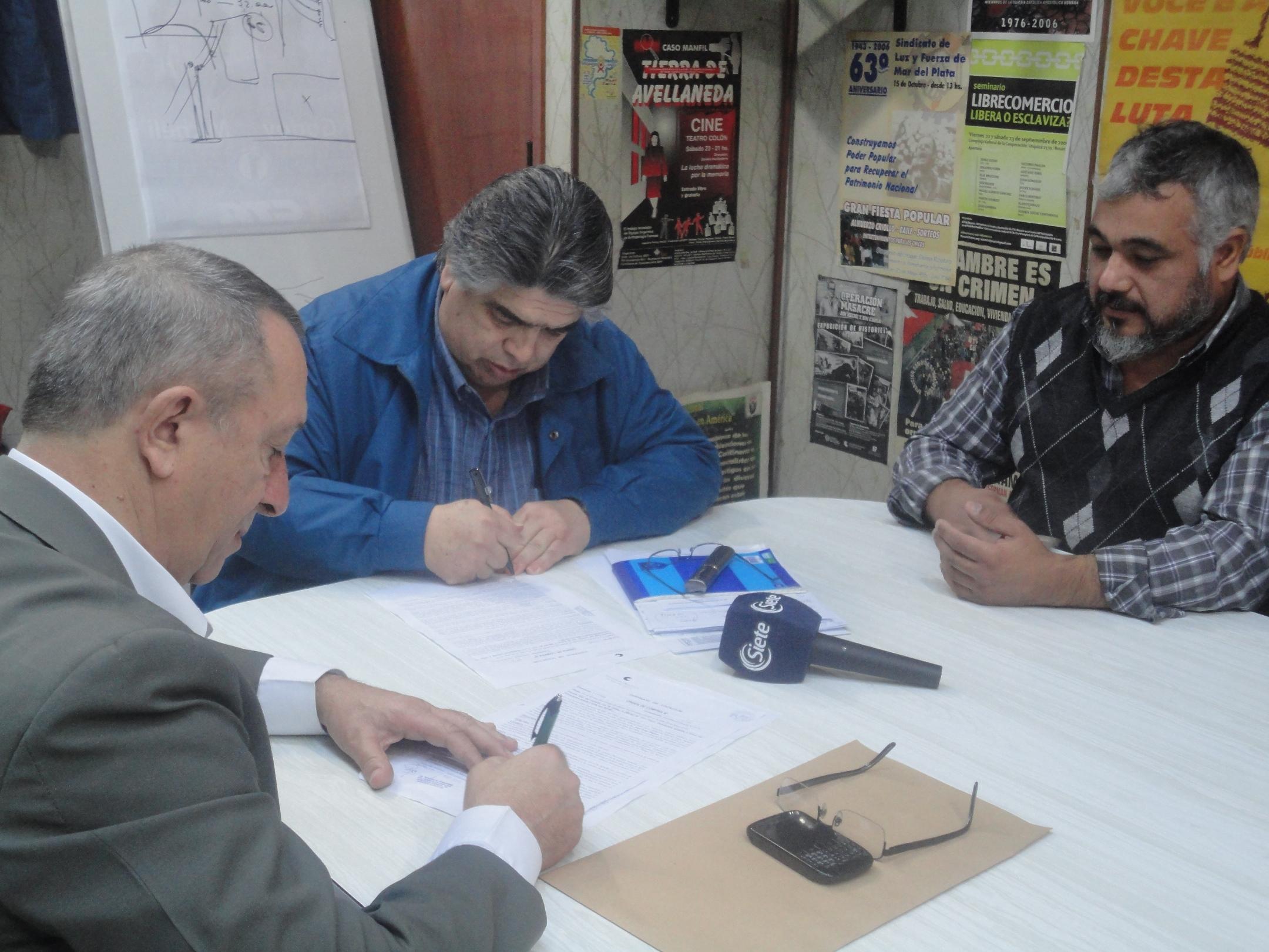 Acuerdo con la Universidad Nacional de Mar del Plata