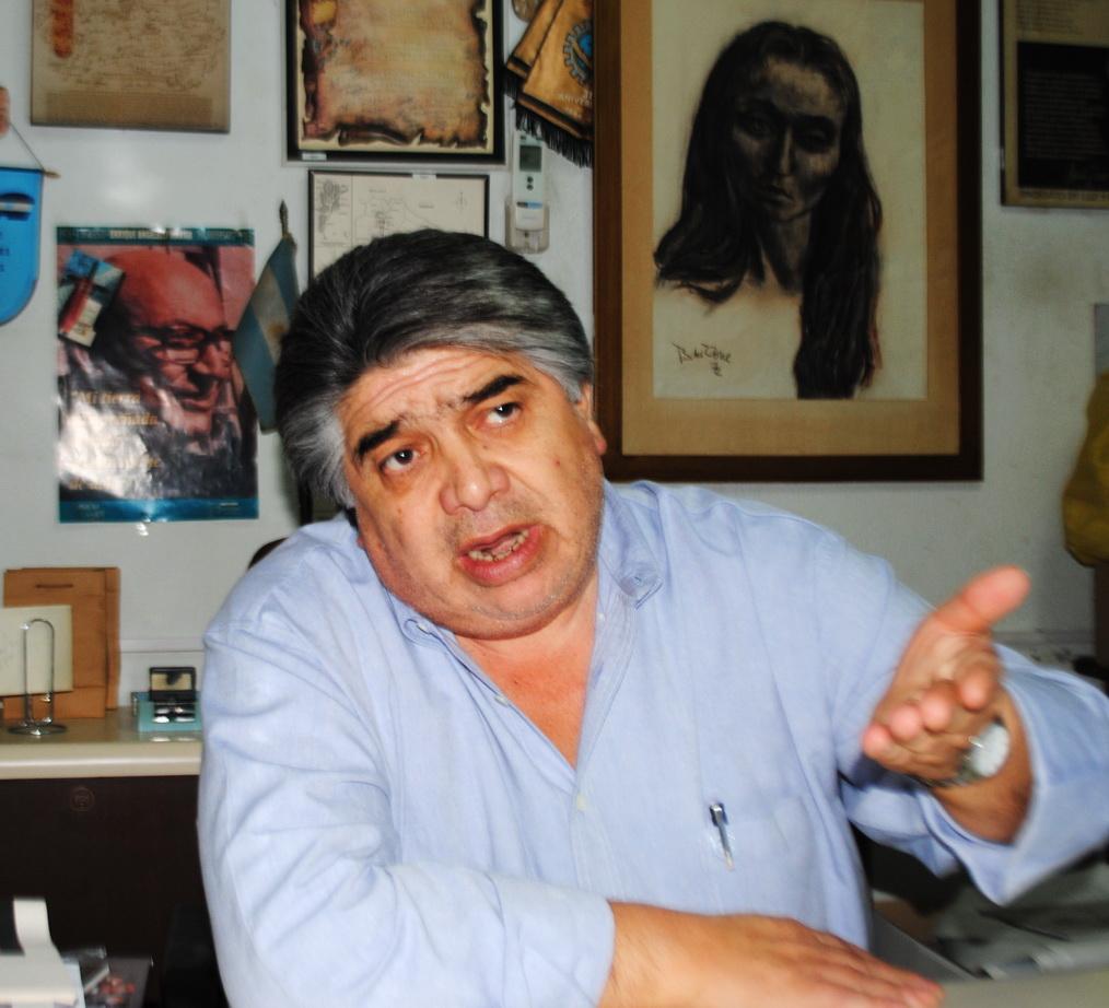 """Entrevista a José Rigane: """"La idea de crear varios chevrones es ratificar la política de privatización"""""""