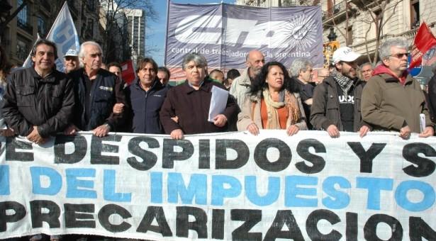 Movilización CTA Nacional