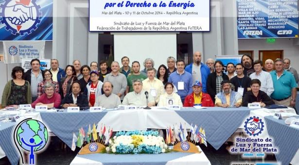 Unidad de los pueblos por la soberanía energética