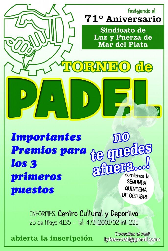 PADEL 2014