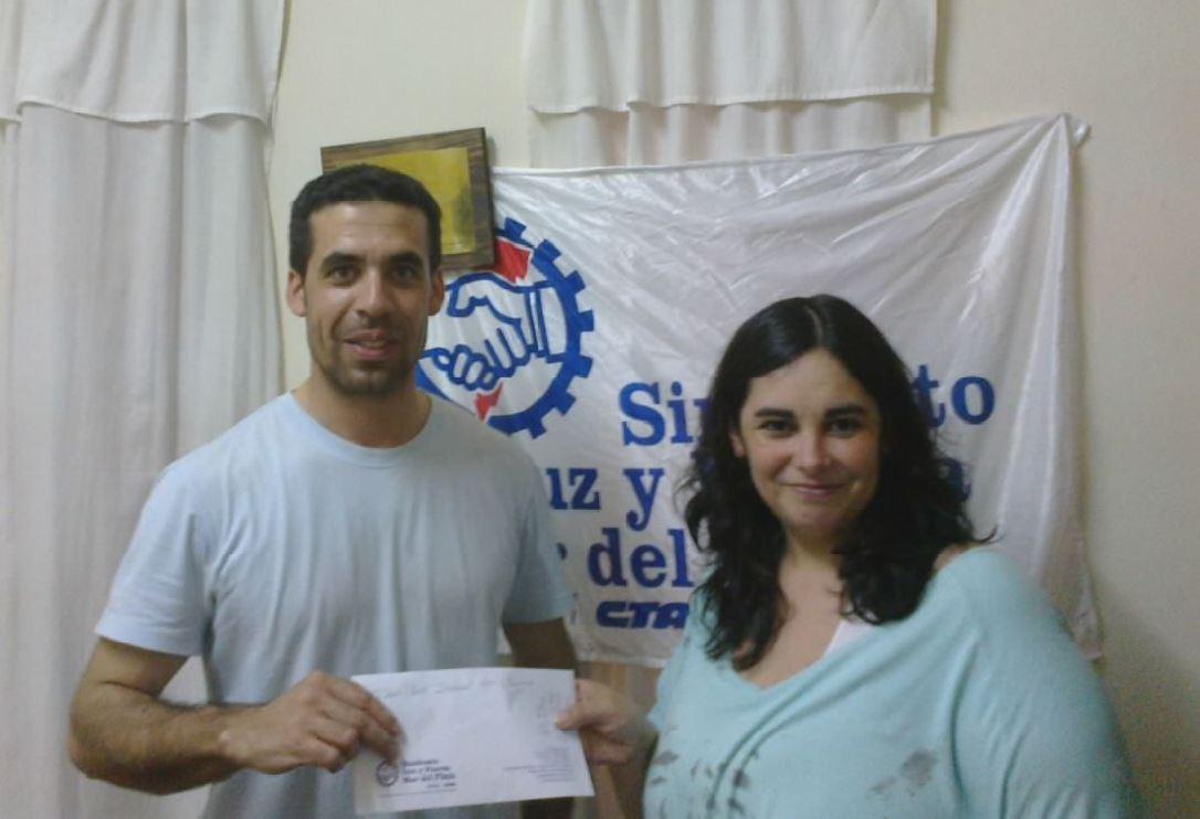 26 11 2014 Contribución Solidaria escuela Balcarce