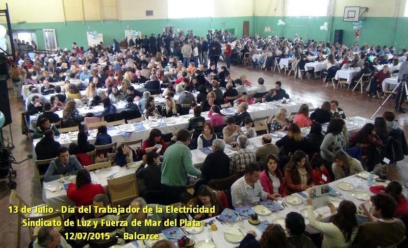 FIESTA DEL DÍA DEL TRABAJADOR DE LA ELECTRICIDAD