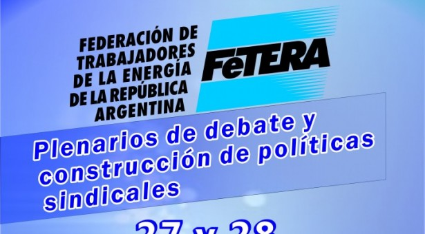 CONVOCATORIA PLENARIOS DE FeTERA