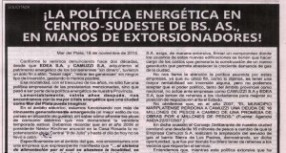 SOLICITADA EN DIARIO LA CAPITAL DE MAR DEL PLATA