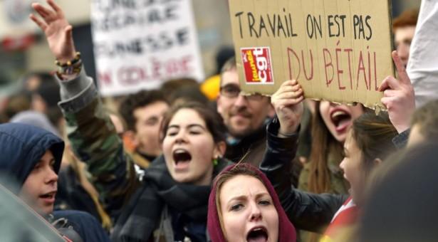 La lucha de clases en Francia contra la reforma laboral