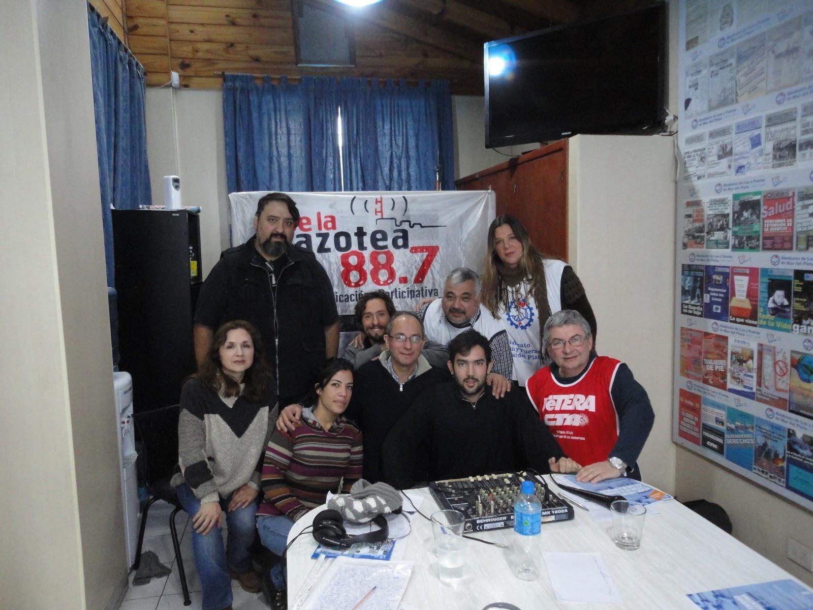 TRANSMISIÓN DE RADIO DESDE NUESTRO GREMIO