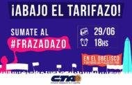 #Frazadazo contra los Tarifazos