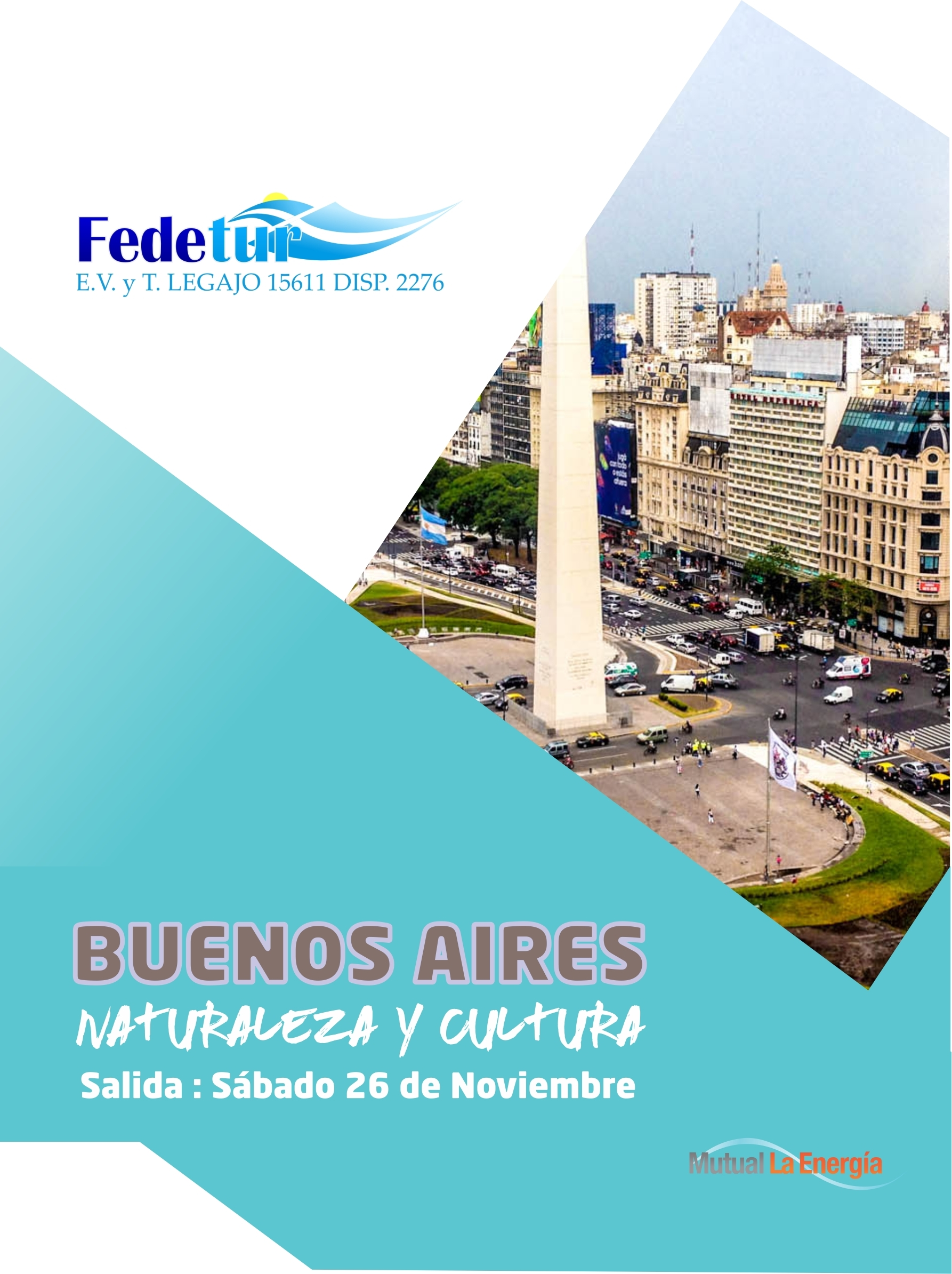 26 de noviembre: viajamos a Buenos Aires con