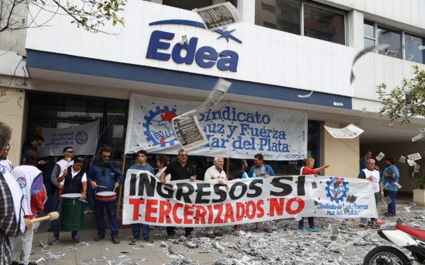 22 DE FEBRERO: PARO CONTRA EDEA S.A. DE TODA LA ORGANIZACIÓN