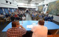 MULTITUDINARIA ASAMBLEA: LOS TRABAJADORES DECIDIMOS CONTINUAR EL CONFLICTO CON EDEA S.A.