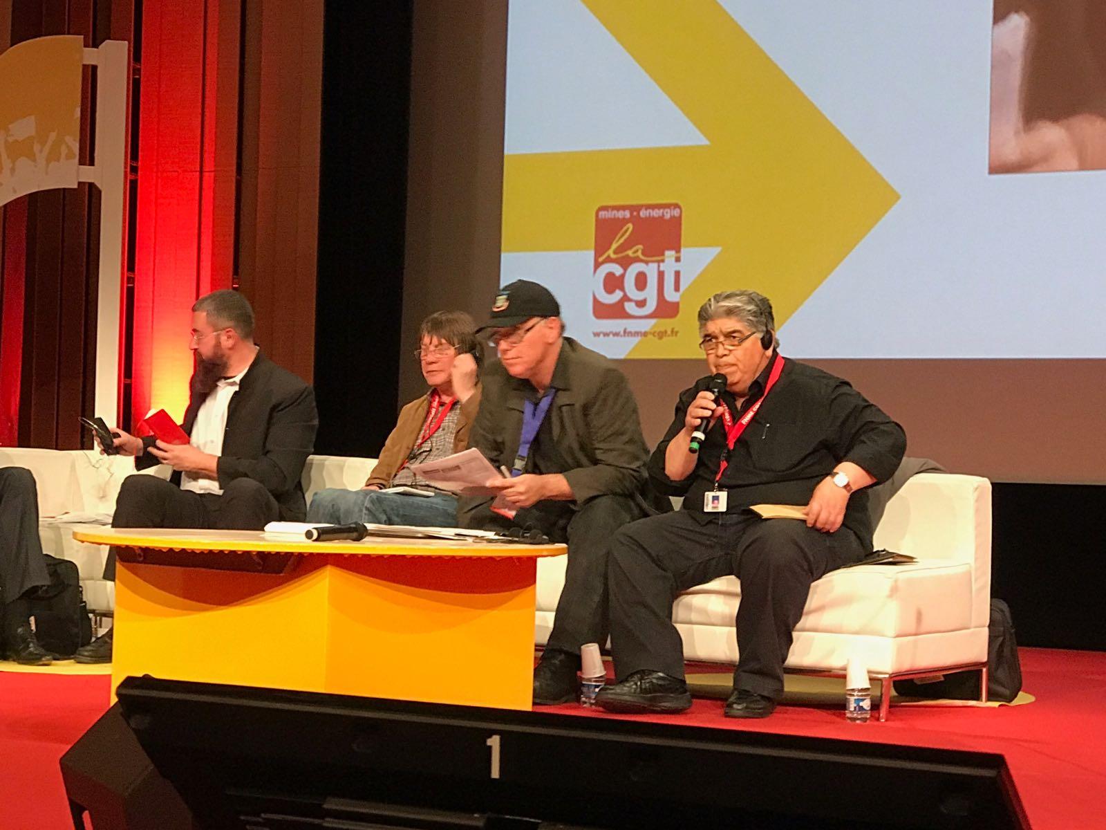 """José Rigane en Francia: """"Tenemos que generar redes continentales para frenar a las multinacionales"""""""