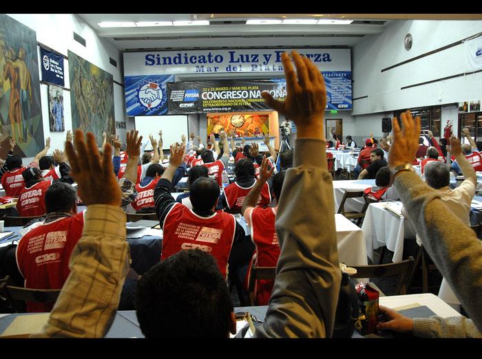Comenzó el Congreso Nacional de FeTERA-CTA