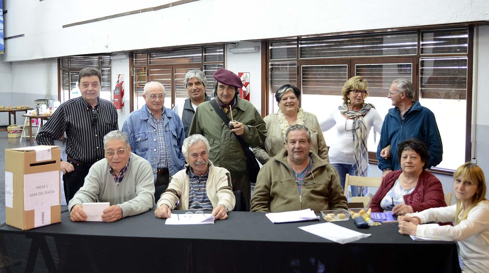 Se realizaron las elecciones en el centro de Jubilados y Pensionados