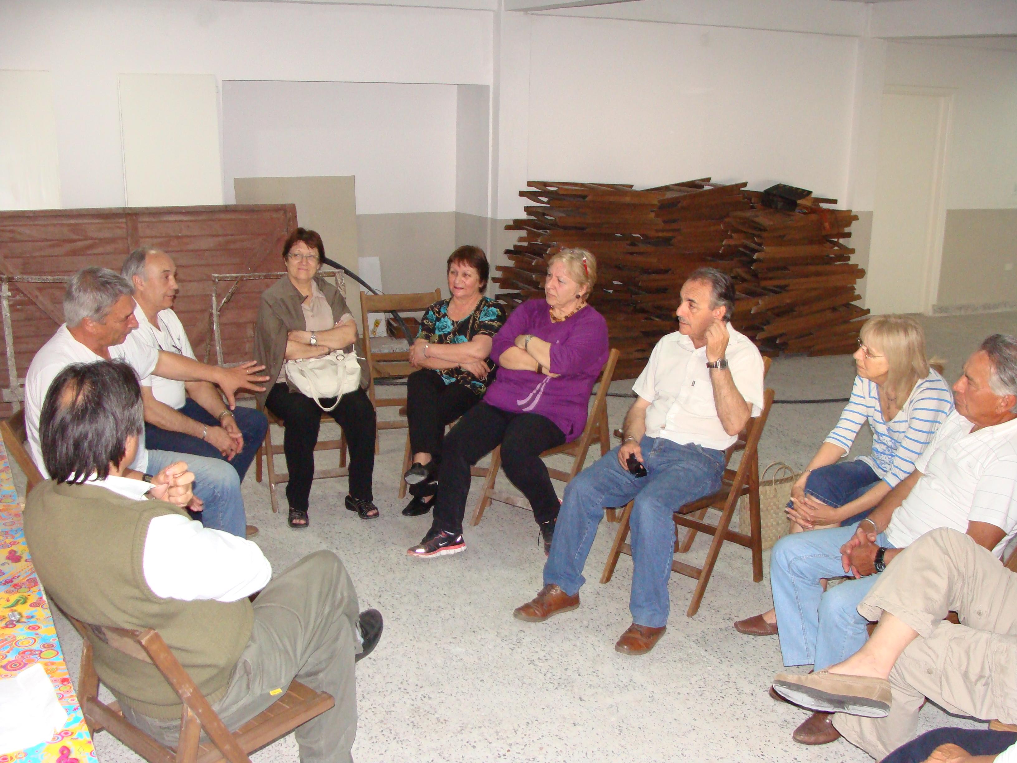 Centro de Jubilados con compañeros de Mar de Ajó y San Bernardo