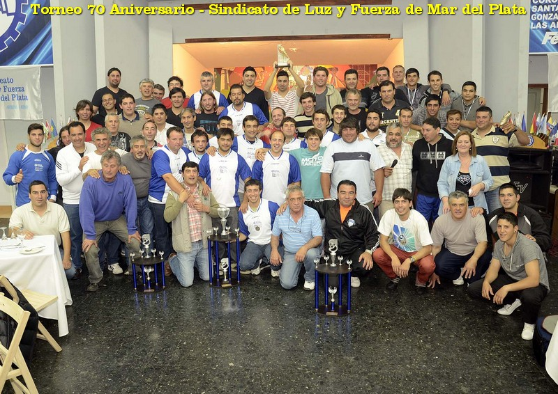 """Maipú campeón del Torneo Interno de Fútbol """"70 Aniversario"""""""