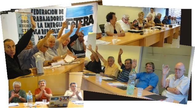 Avanza la conformación del Centro de Jubilados de la FeTERA