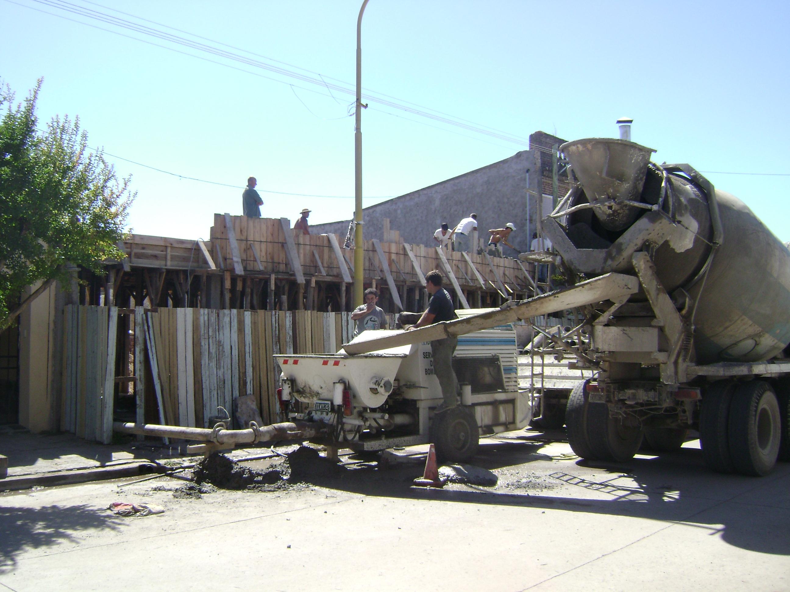 Más avances en las obras en Gonzales Chaves
