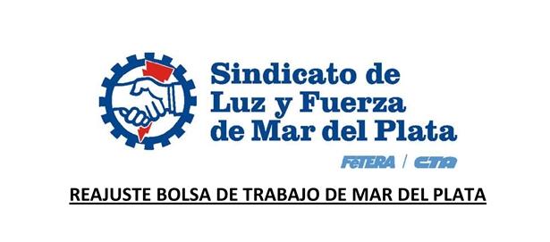 REAJUSTE BOLSA DE TRABAJO DE MAR DEL PLATA