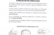 PLANILLAS DÍA DEL NIÑO/A 2016