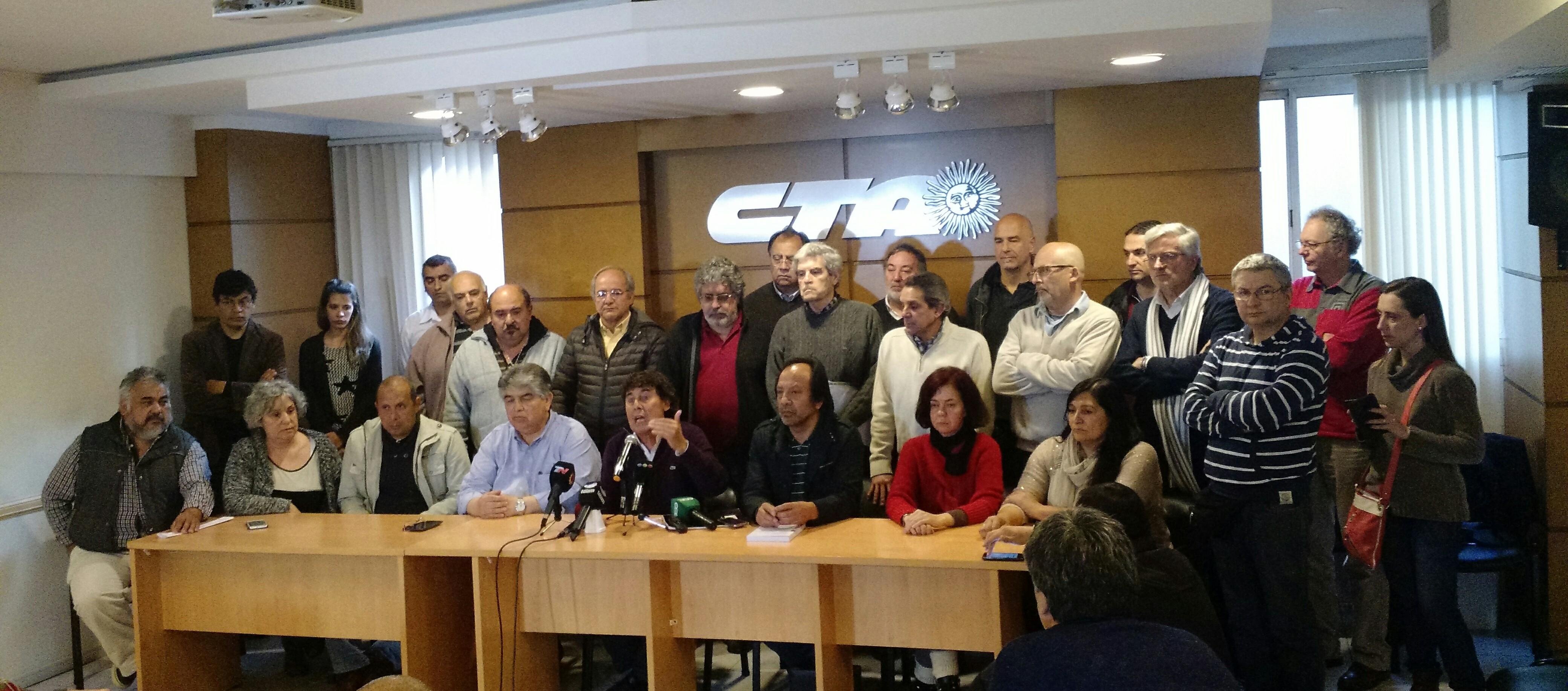 Declaración de la CTA Autónoma: ¡¡¡Continuamos construyendo el Paro Nacional!!!