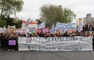 """LUZ Y FUERZA MAR DEL PLATA PRESENTE EN LA MARCHA """"VIVAS NOS QUEREMOS"""""""
