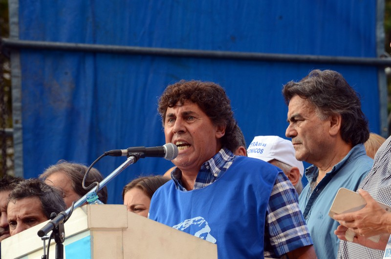 NO! A LA DEMONIZACIÓN DE NUESTROS DIRIGENTES  NOS SOLIDARIZAMOS CON EL COMPAÑERO PABLO MICHELI