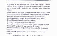 LUZ Y FUERZA MAR DEL PLATA ADHIERE AL PARO NACIONAL DEL 6 DE ABRIL