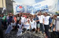 LUZ Y FUERZA MdP PRESENTE EN LA MOVILIZACIÓN CONTRA EL AJUSTE