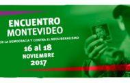 Declaración Final Montevideo 2017: Encuentro Continental por la Democracia y Contra el Neoliberalismo