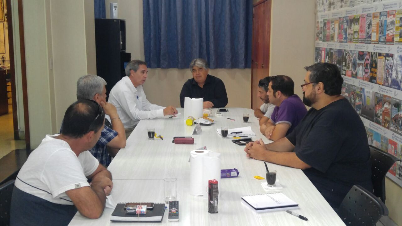 VISITA DEL PRESIDENTE DE CENTRALES DE LA COSTA A LA ORGANIZACIÓN SINDICAL