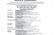 NUEVO CONVENIO DE ATENCIÓN DE