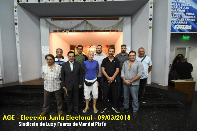MASIVA ASAMBLEA ELIGIÓ LA JUNTA ELECTORAL