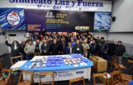 ELECCIONES EN LUZ Y FUERZA MAR DEL PLATA: JOSÉ RIGANE FUE REELECTO