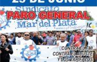 PARO NACIONAL DEL 25 DE JUNIO