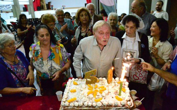 ACTO HOMENAJE: LOS 50 AÑOS DE LA COORDINADORA NACIONAL DE JUBILADOS Y PENSIONADOS DE ARGENTINA