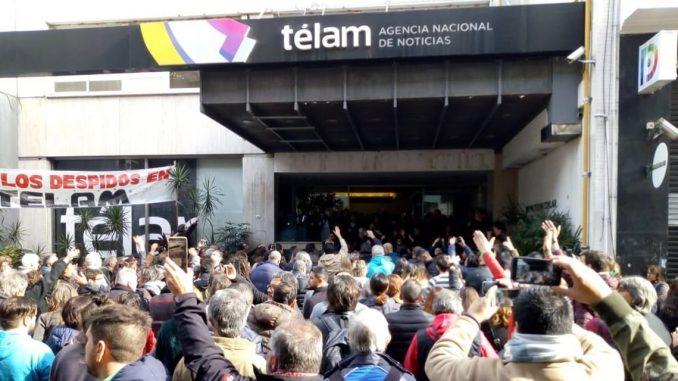 Solidaridad con l@s trabajador@s en lucha de Télam
