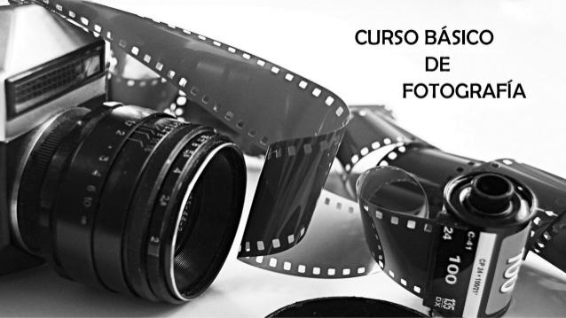 1er TALLER INTRODUCCIÓN A LA FOTOGRAFÍA Y MANEJO DE CÁMARAS