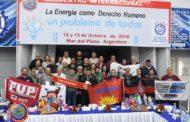 FINALIZÓ EL ENCUENTRO INTERNACIONAL DE ENERGÍA EN EL SINDICATO DE LUZ Y FUERZA DE MAR DEL PLATA