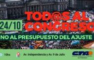 PRESUPUESTO 2019: RECHAZAMOS EL AJUSTE Y EL ACHICAMIENTO DEL ESTADO