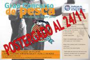 TORNEO DE PESCA: POSTERGADO!!