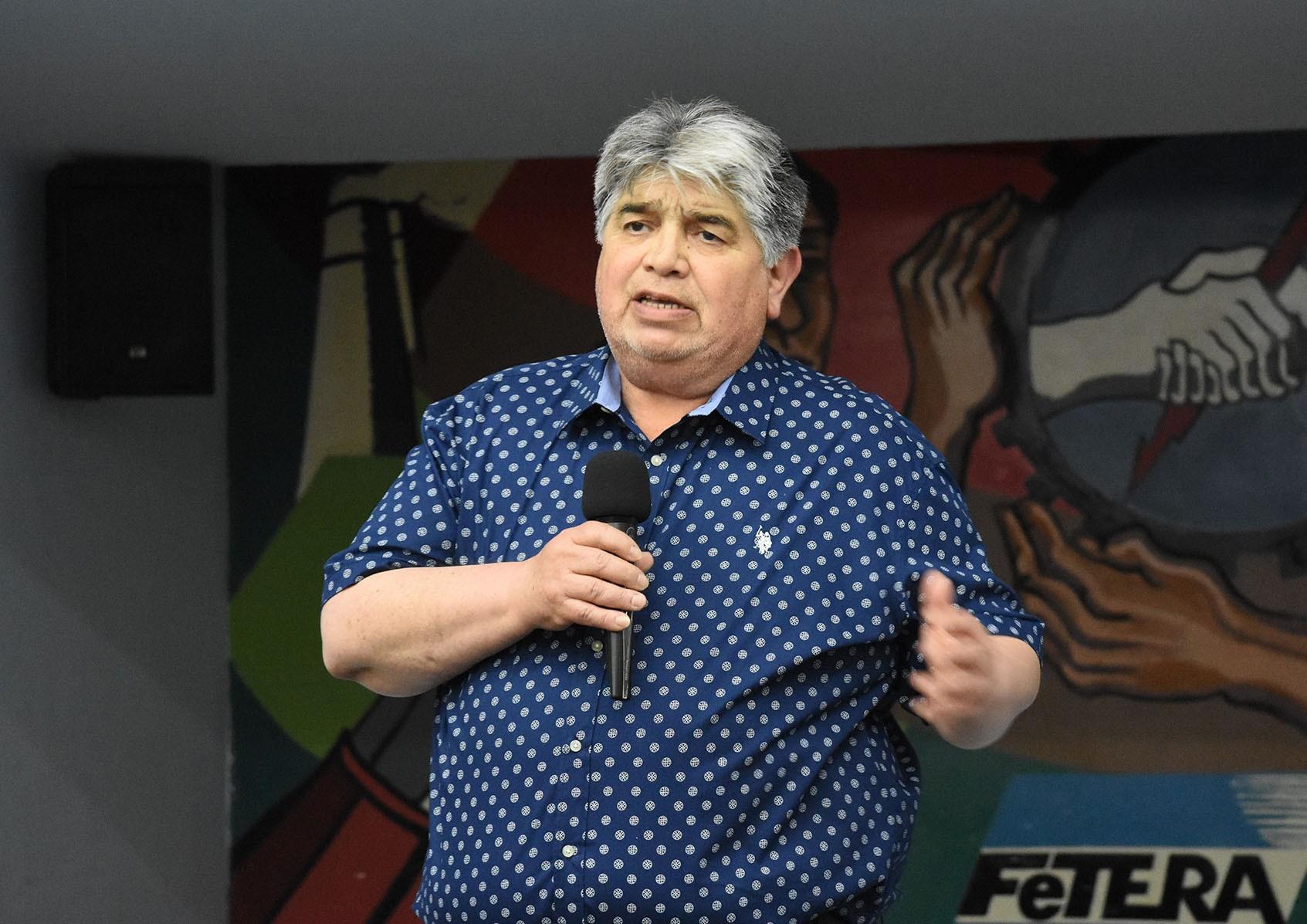 """José Rigane: """"El 4 de abril hay que ir a un Paro Nacional en unidad"""""""