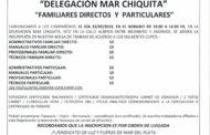 APERTURA INSCRIPCIONES BOLSA DE TRABAJO EN MAR CHIQUITA