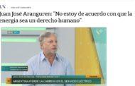 El derecho a la energía y la brutalidad de los dichos de Aranguren