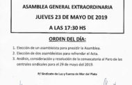 CONVOCATORIA A ASAMBLEA GENERAL EXTRAORDINARIA