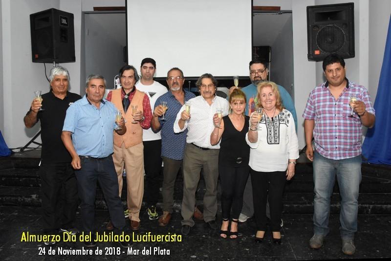 FELIZ DÍA DEL JUBILADO Y LA JUBILADA LUCIFUERCISTA