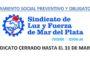 SINDICATO CERRADO TOTALMENTE HASTA EL 31 DE MARZO