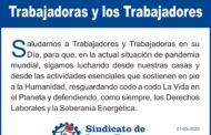 1° DE MAYO DÍA INTERNACIONAL DE LOS TRABAJADORES Y LAS TRABAJADORAS
