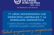 77 AÑOS DEFENDIENDO LOS DERECHOS LABORALES Y LA SOBERANÍA ENERGÉTICA