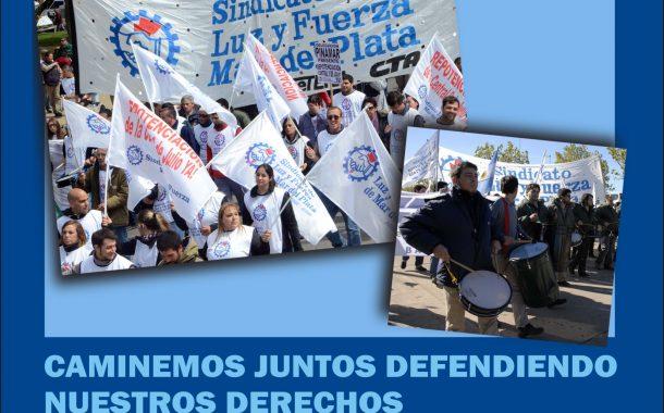 DÍA DEL TRABAJADOR/A LUCIFUERCISTA: CAMINEMOS JUNTOS DEFENDIENDO NUESTROS DERECHOS DE CLASE TRABAJADORA